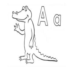 april the alligator